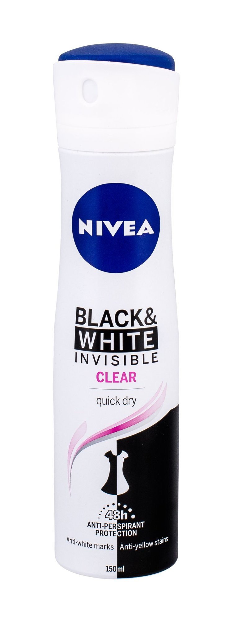 Nivea Invisible For Black & White Cosmetic 150ml