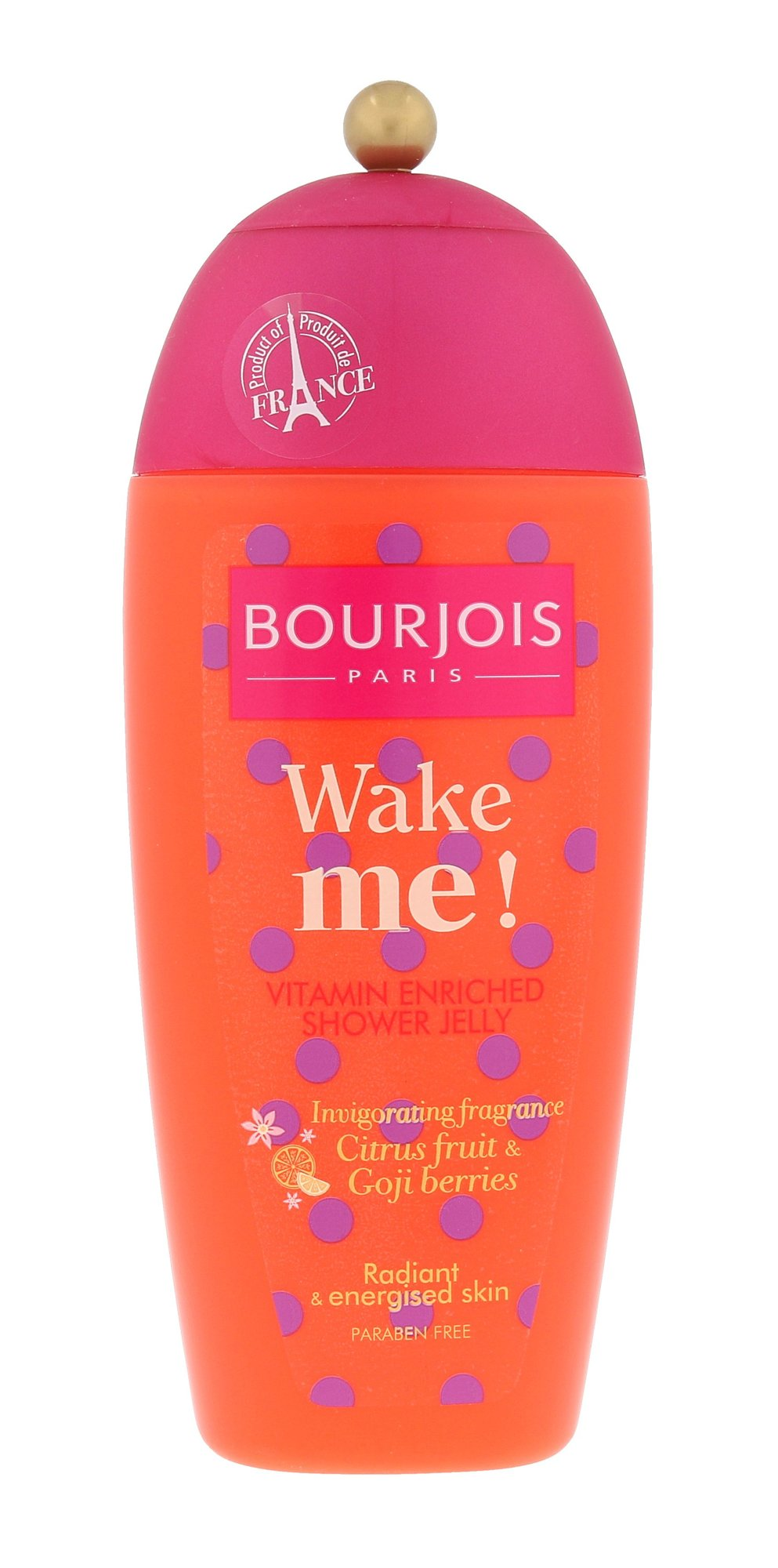 BOURJOIS Paris Wake Me Vitamin Shower Gel Cosmetic 250ml