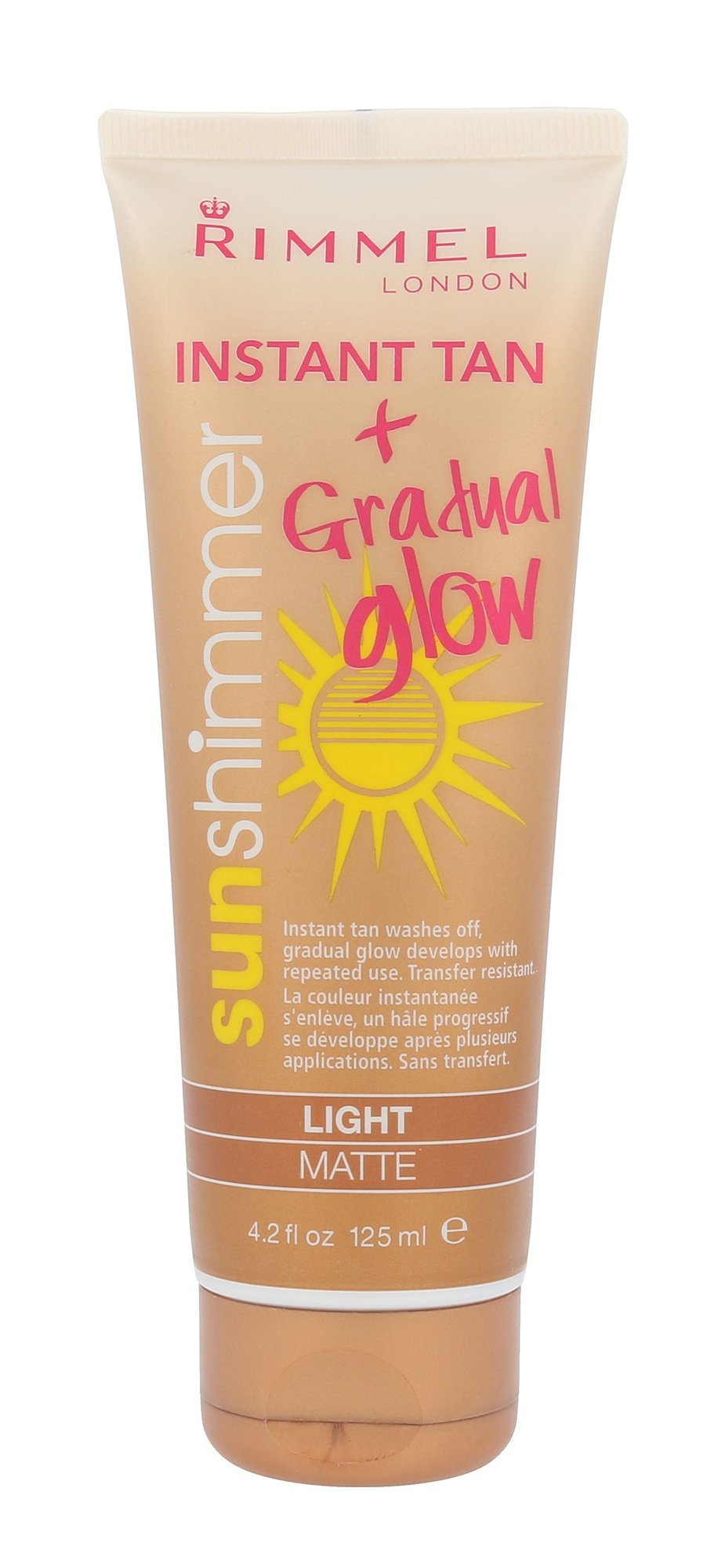 Rimmel London Sun Shimmer Cosmetic 125ml Light Matte