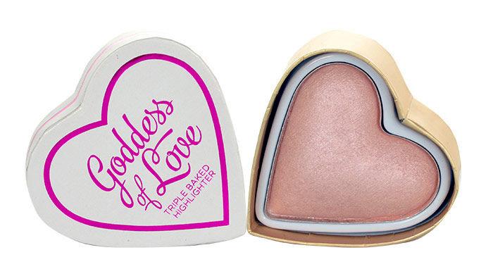 Makeup Revolution London I Love Makeup Goddess Of Love Baked Highlighter Cosmetic 10g