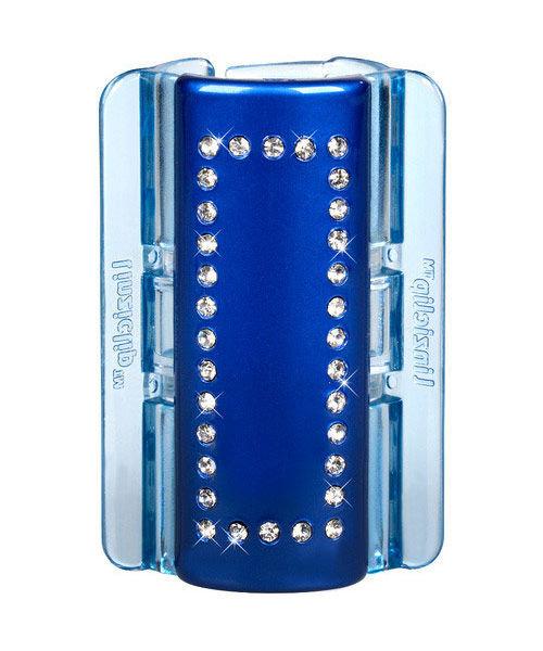 Linziclip Maxi Hair Clip Cosmetic 1pc Blue Pearl Crystal