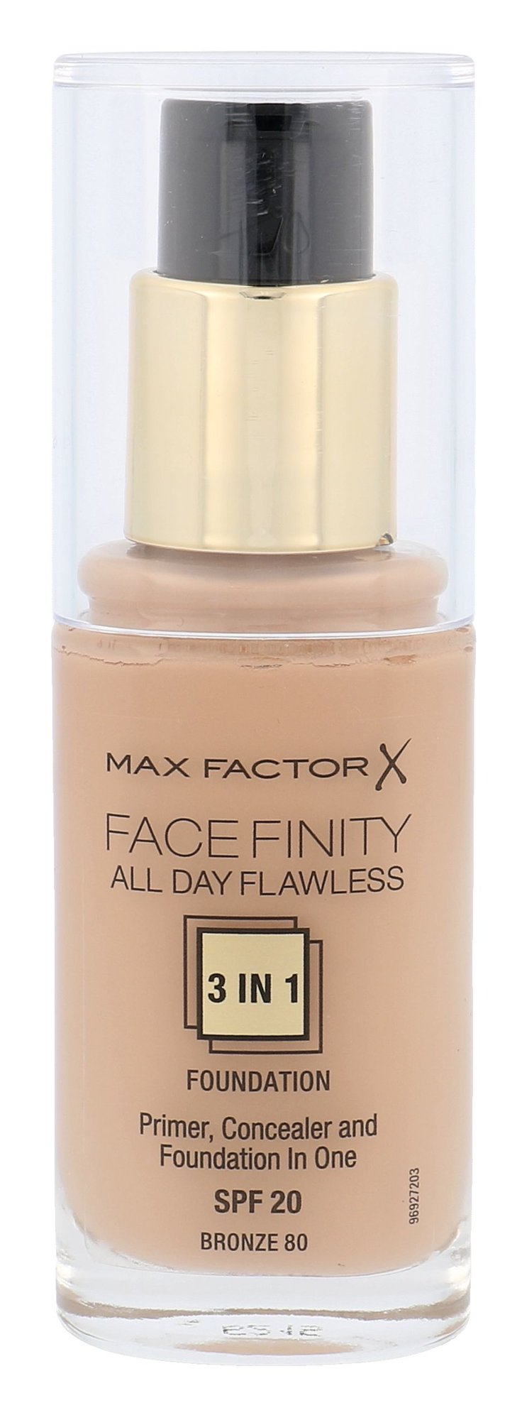 Max Factor Facefinity Cosmetic 30ml 80 Bronze
