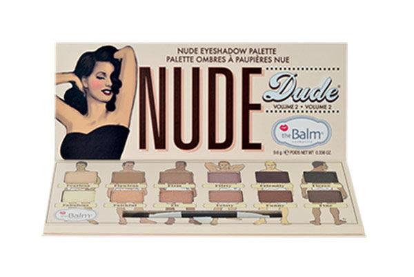 TheBalm Nude Dude Volume 2 Eyeshadow Palette Cosmetic 9,6g