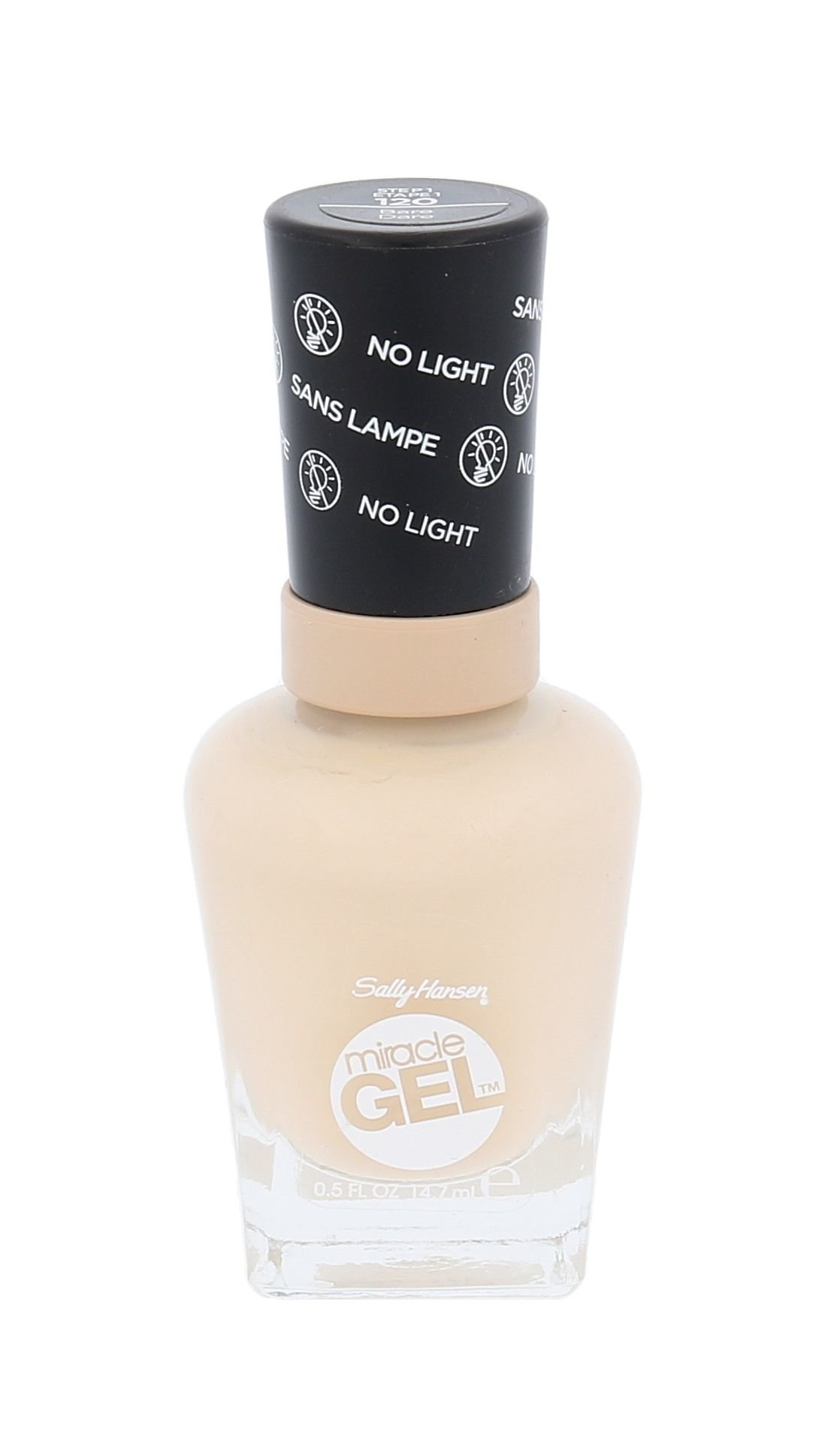 Sally Hansen Miracle Gel Cosmetic 14,7ml 120 Bare Dare
