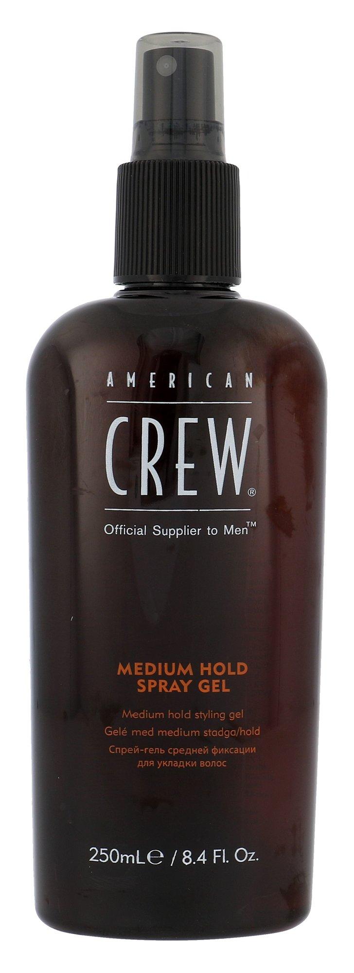 American Crew Classic Cosmetic 250ml  Medium Hold Spray Gel