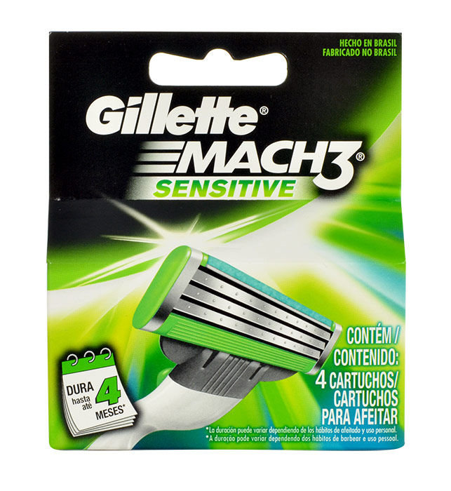 Gillette Mach 3 Sensitive Cosmetic 4ml