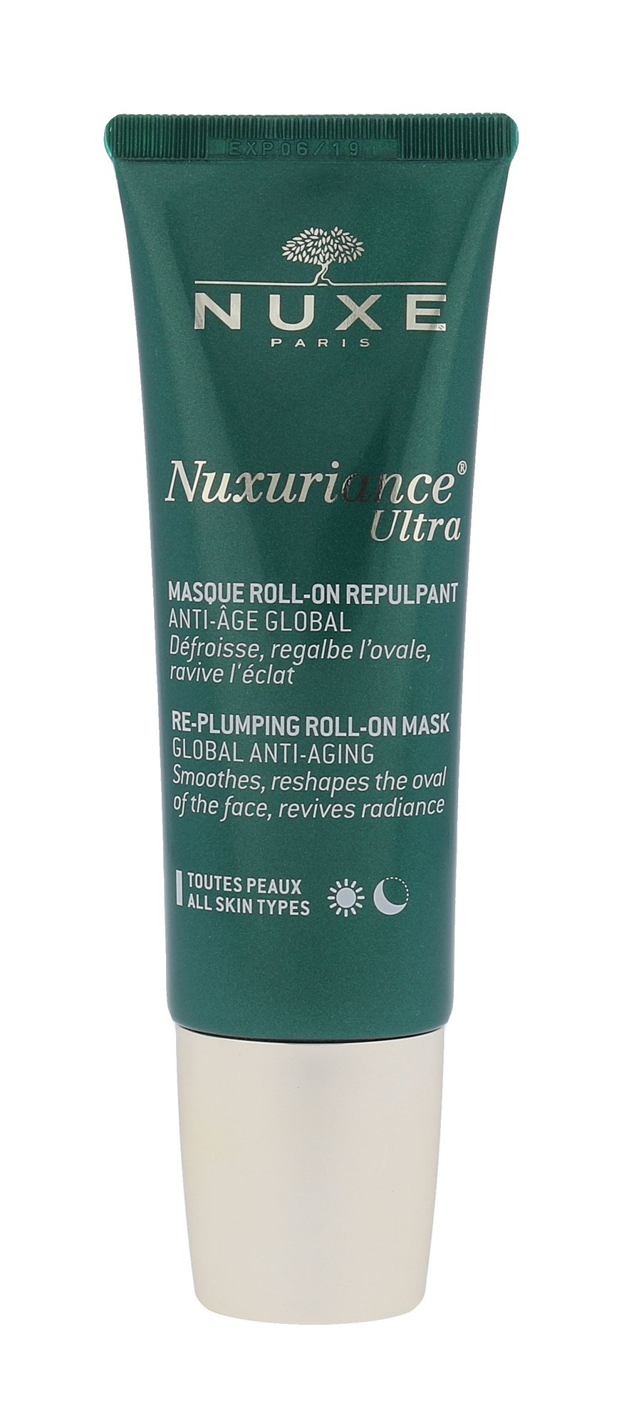 Nuxe Nuxuriance Ultra Re-Plumping Roll-On Mask Cosmetic 50ml
