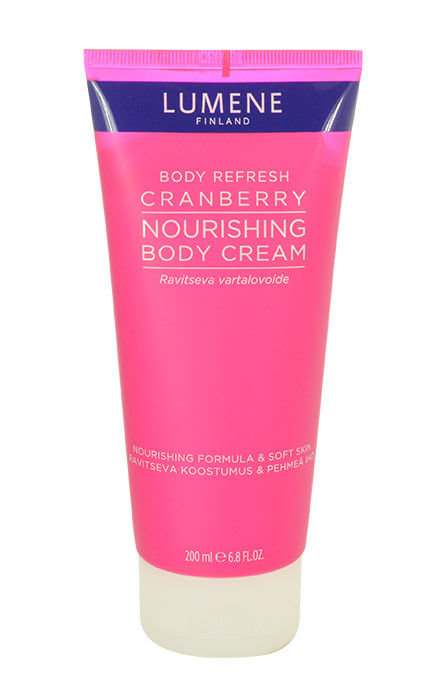 Lumene Body Refresh Cosmetic 200ml  Cranberry