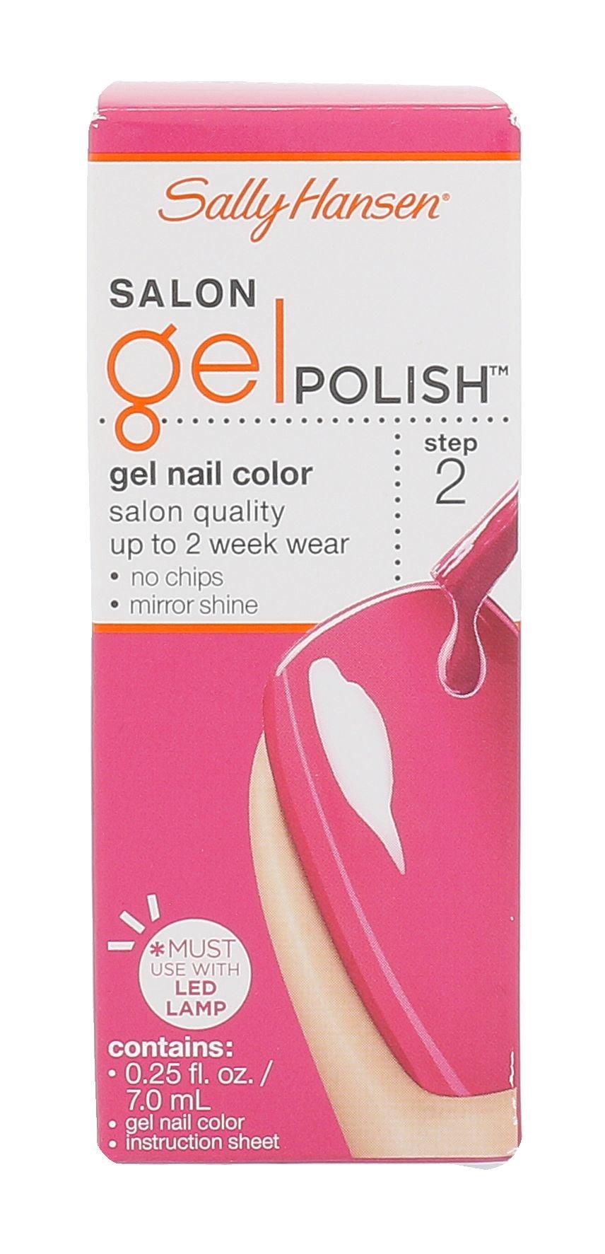 Sally Hansen Salon Gel Polish Cosmetic 7ml 210 Back To The Fuchsia