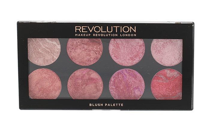 Makeup Revolution London Blush Palette Cosmetic 13g Blush Queen