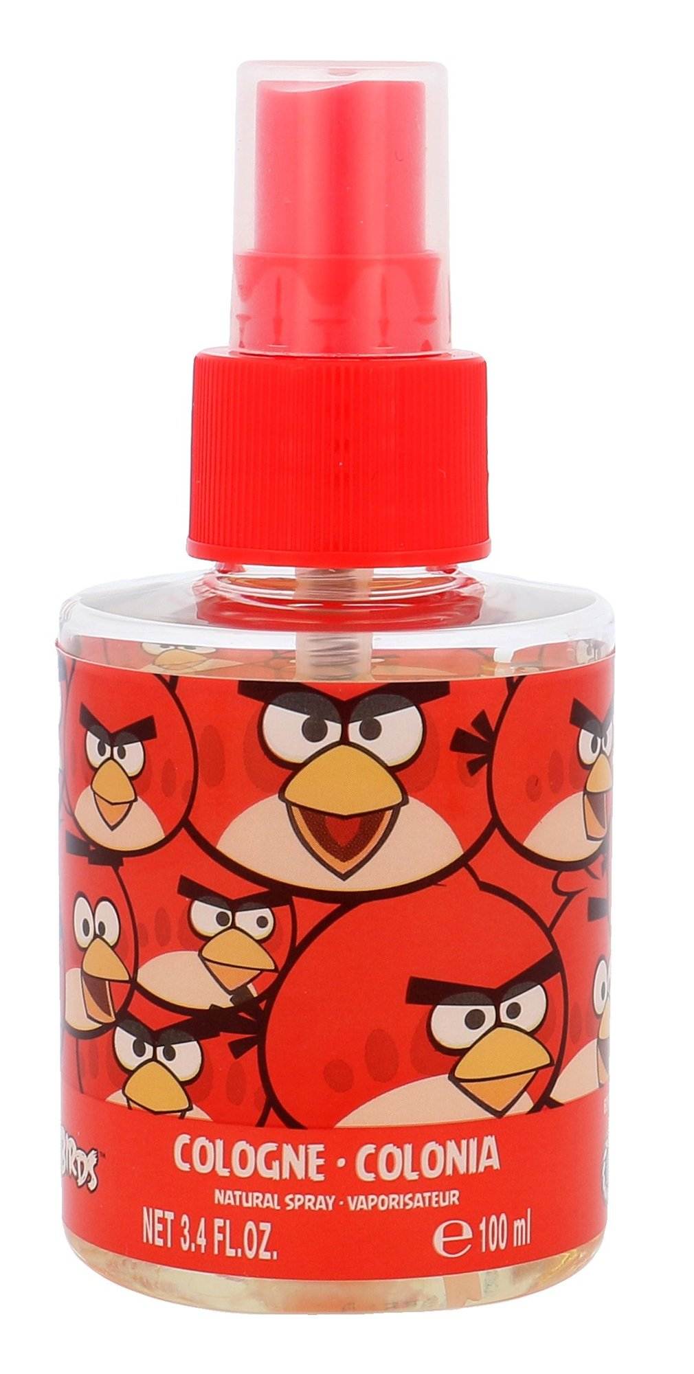 Angry Birds Angry Birds Red Bird Tělový spray 100ml