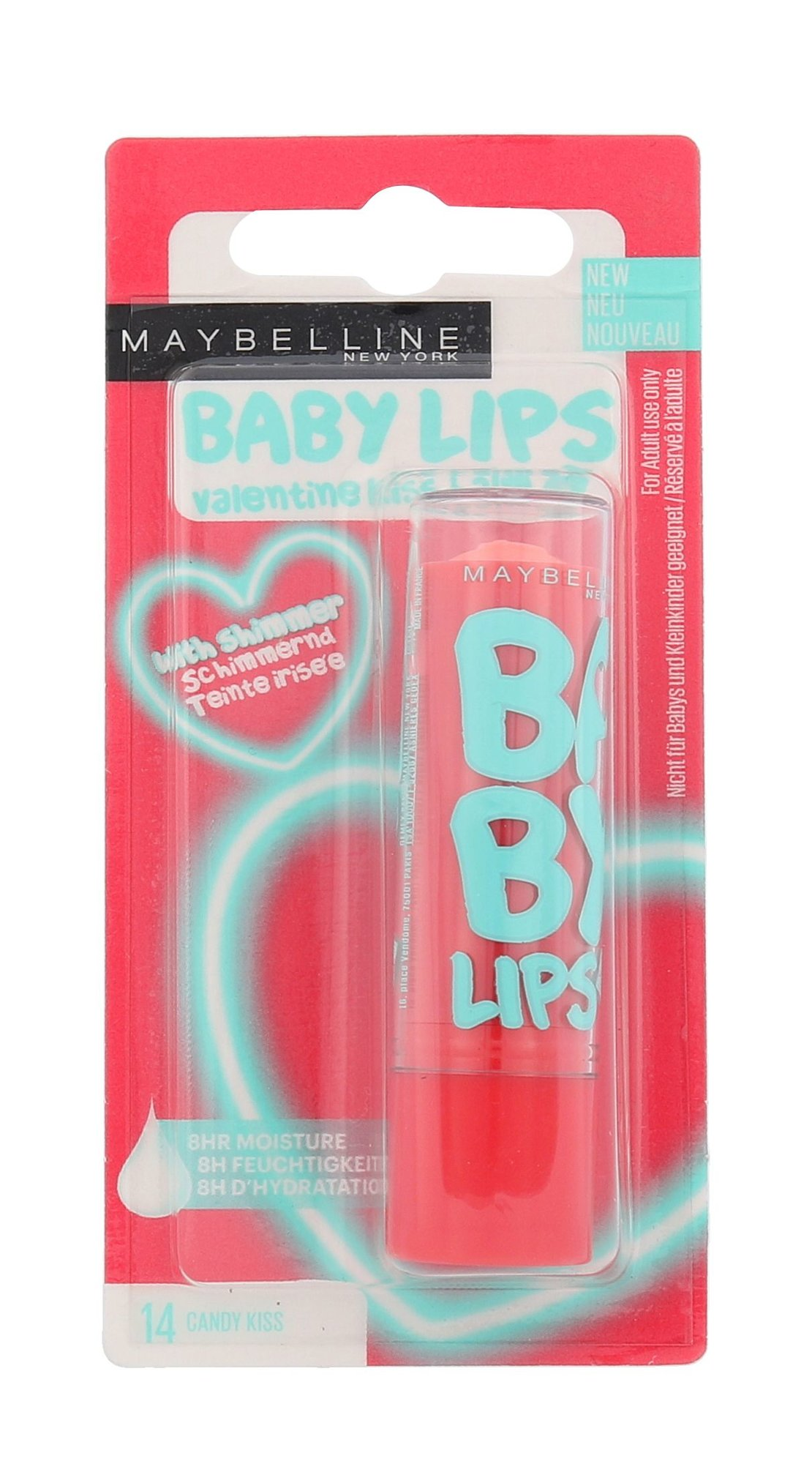 Maybelline Baby Lips Cosmetic 4,4ml 14 Candy Kiss