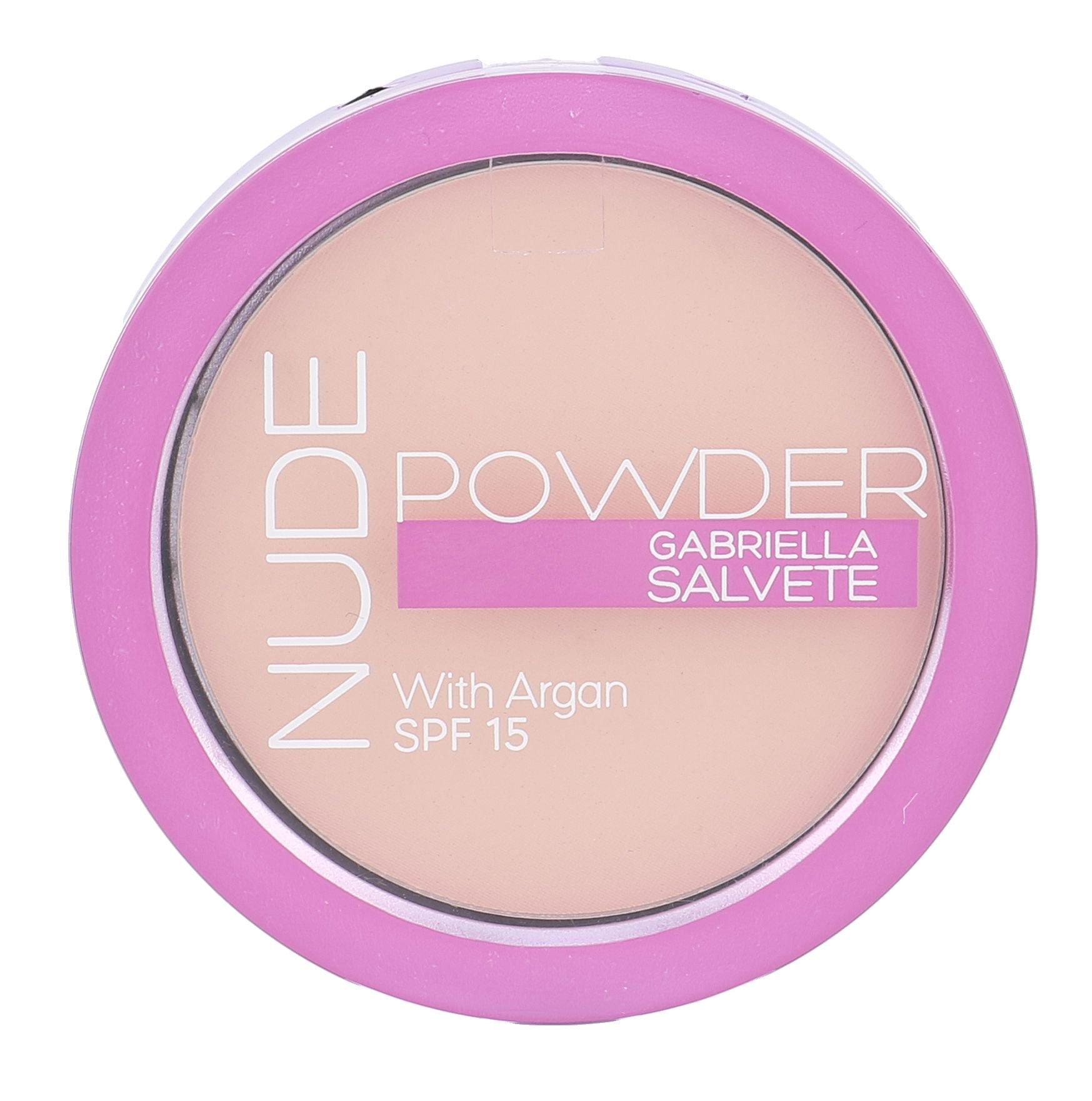 Gabriella Salvete Nude Powder SPF15 Cosmetic 8g 02 Light Nude
