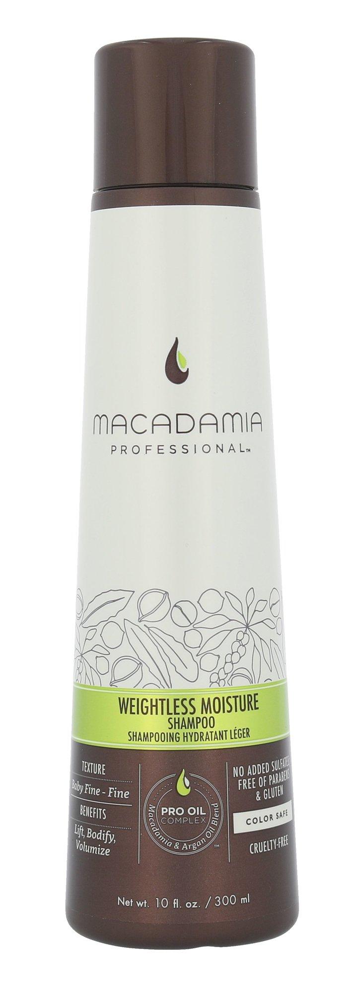 Macadamia Weightless Moisture Shampoo Cosmetic 300ml