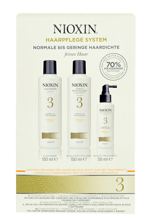 Nioxin Hair System 3 Kit Cosmetic 350ml