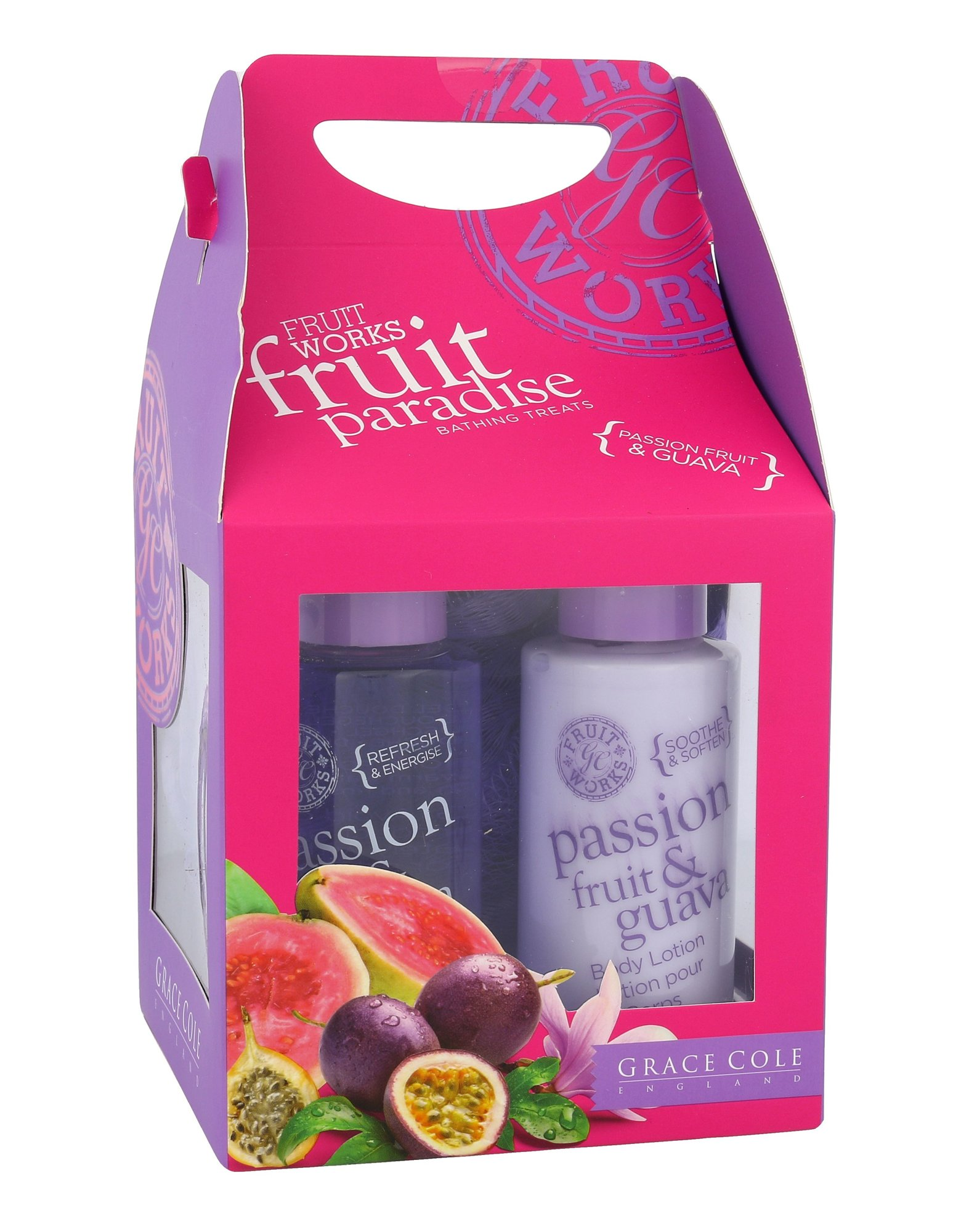 Grace Cole Fruit Works Cosmetic 100ml  Passion Fruit & Guava