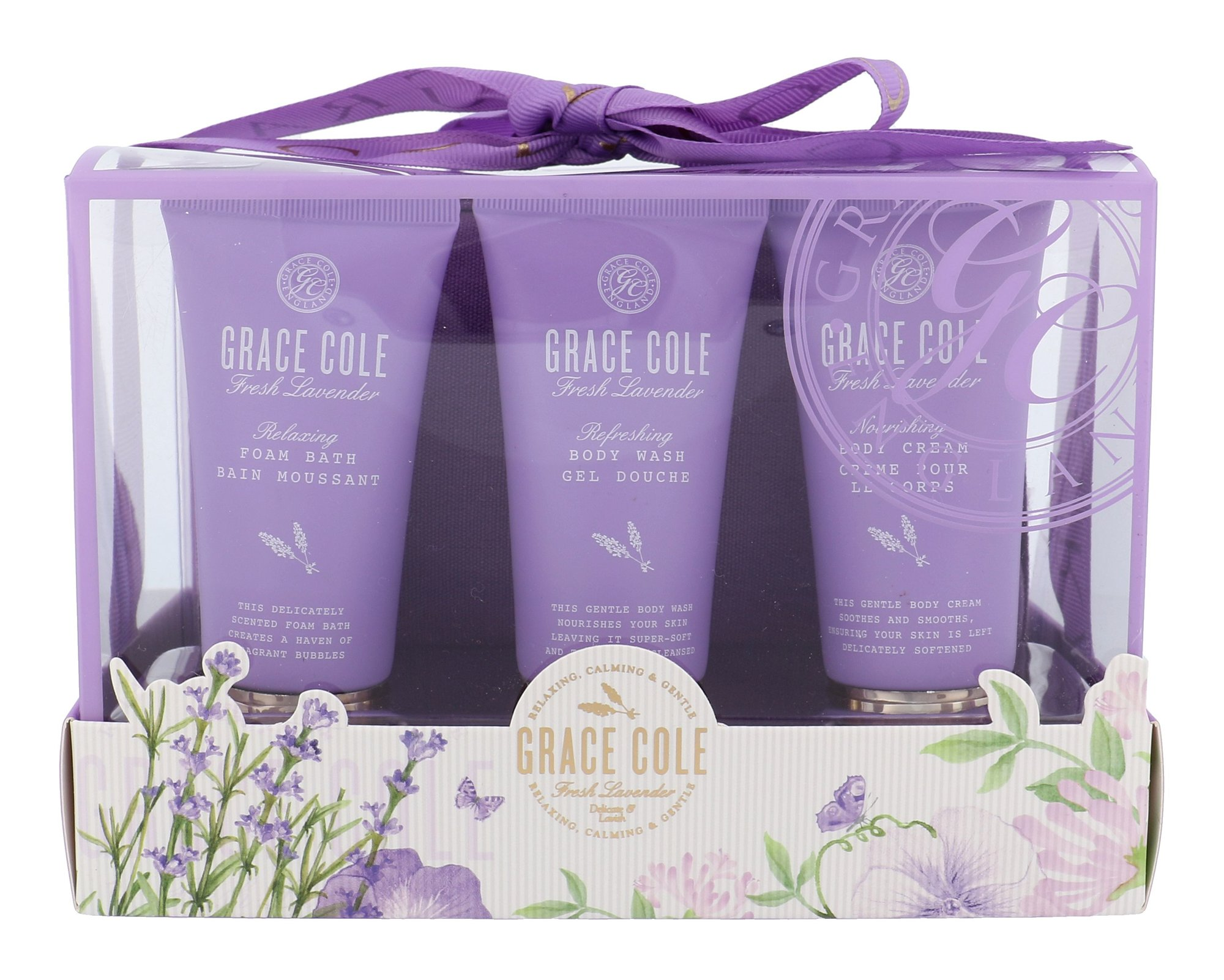 Grace Cole Fresh Lavender Luxury Kit Cosmetic 50ml