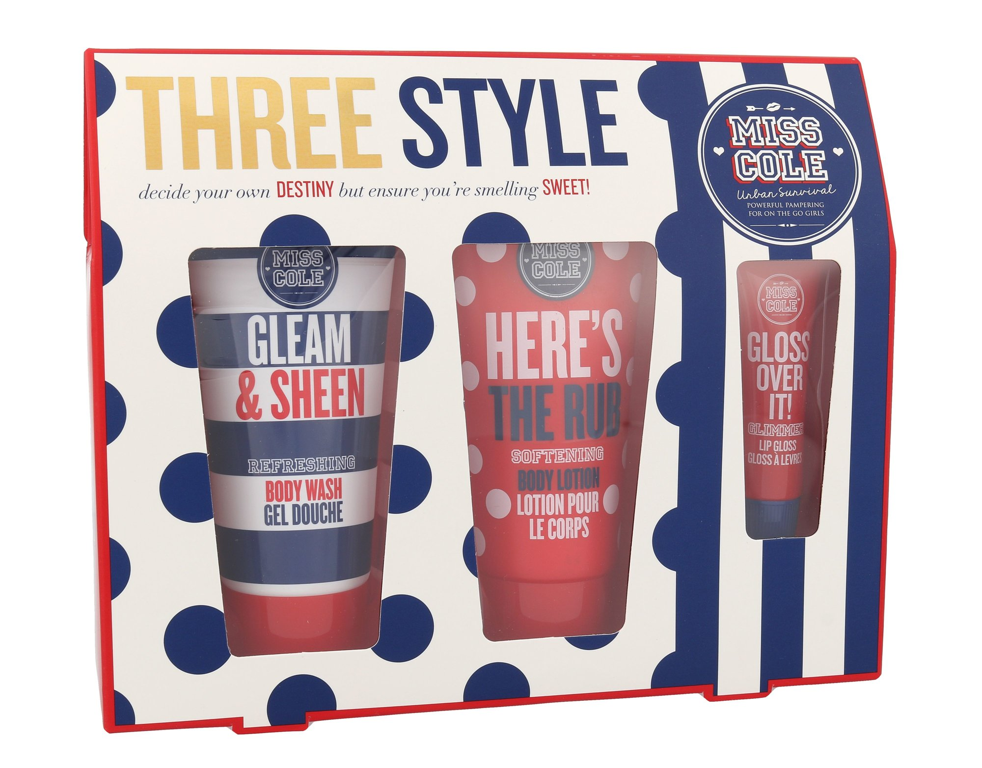 Grace Cole Miss Cole Three Style Cosmetic 100ml