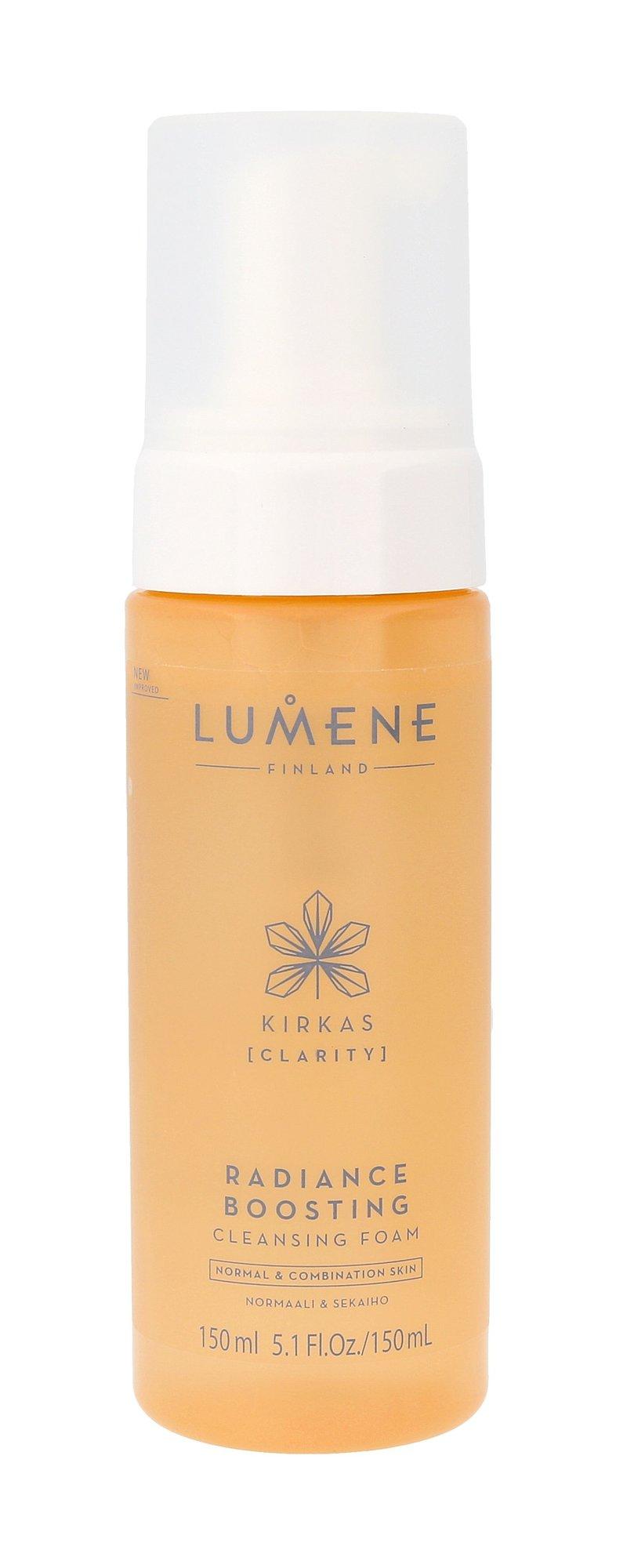 Lumene Clarity Radiance Boosting Cleansing Foam Cosmetic 150ml