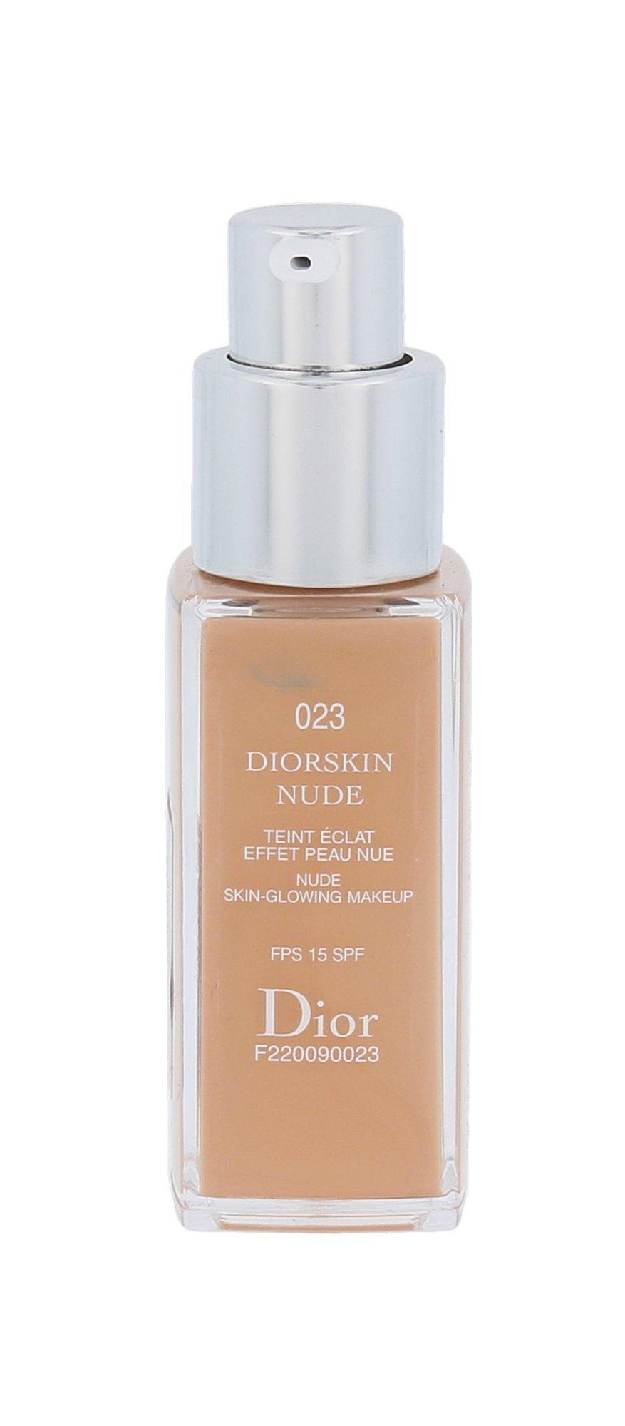 Christian Dior Diorskin Nude Cosmetic 20ml 023 Peach