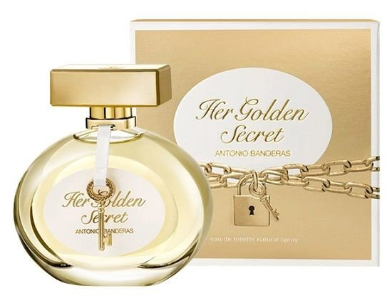 Antonio Banderas Her Golden Secret EDT 50ml