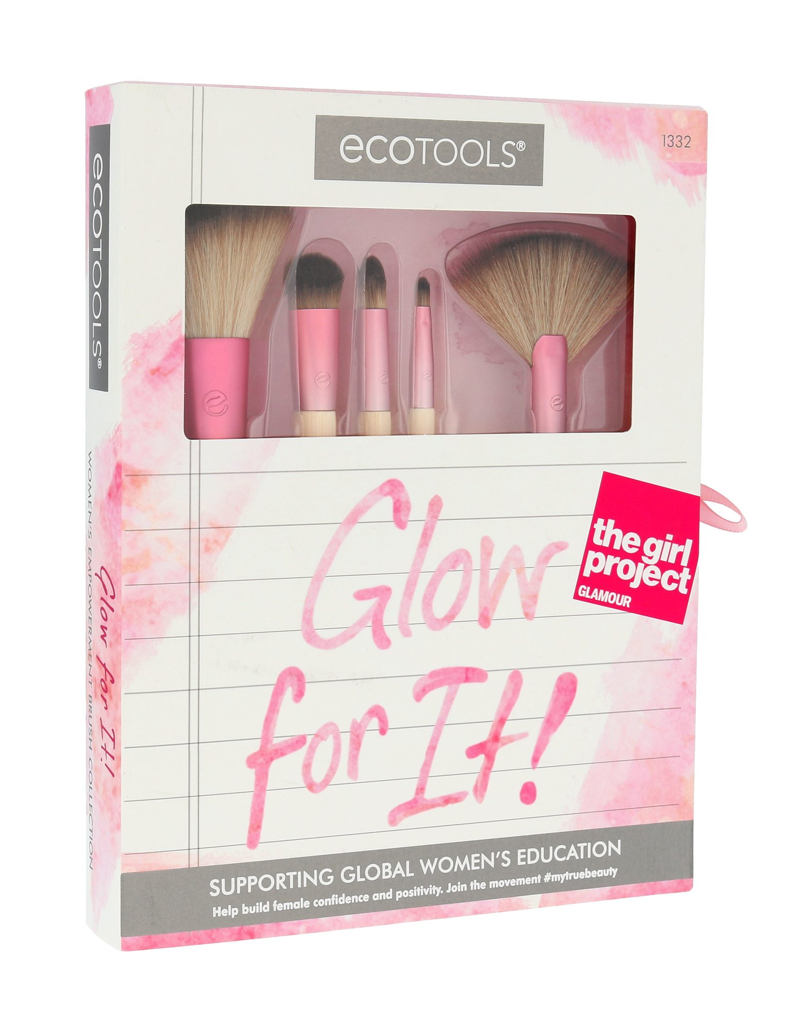 EcoTools Brushes Cosmetic 1ml  Glow For It!