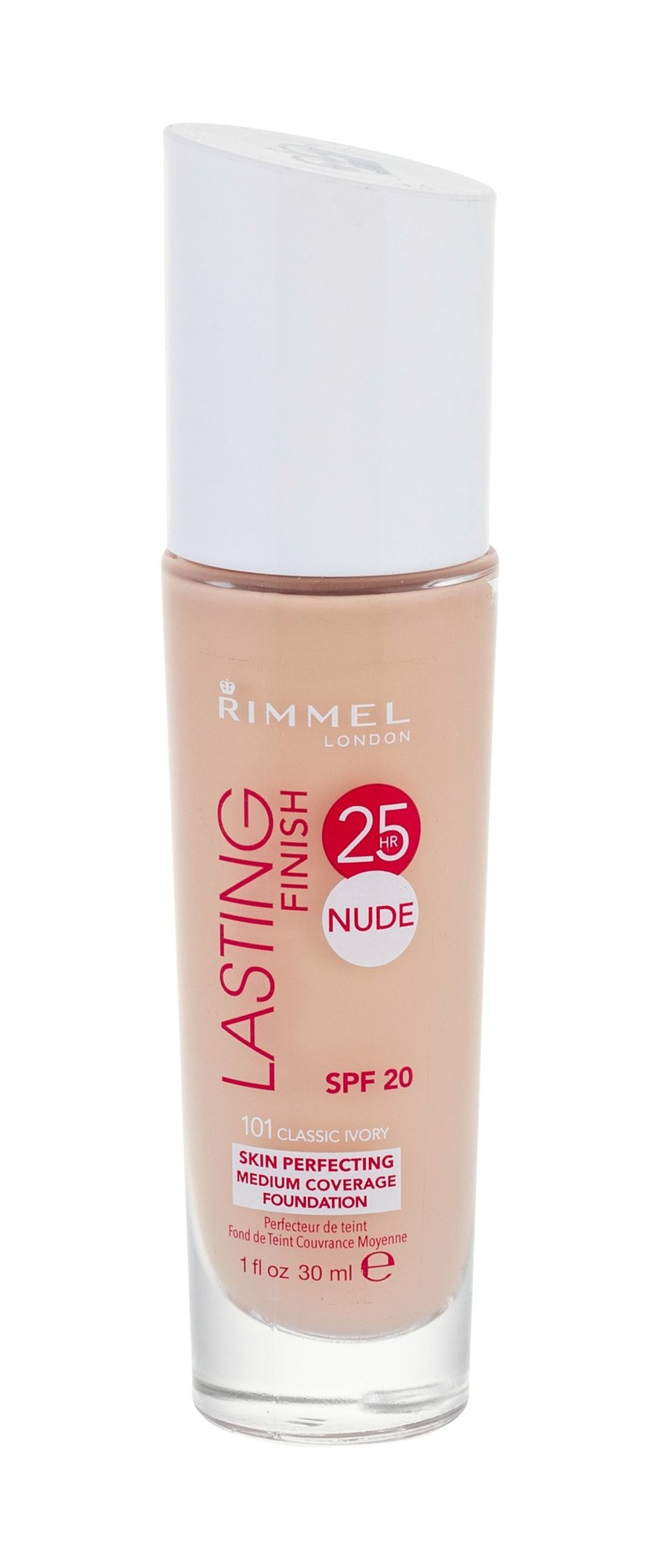 Rimmel London Lasting Finish Cosmetic 30ml 101 Classic Ivory