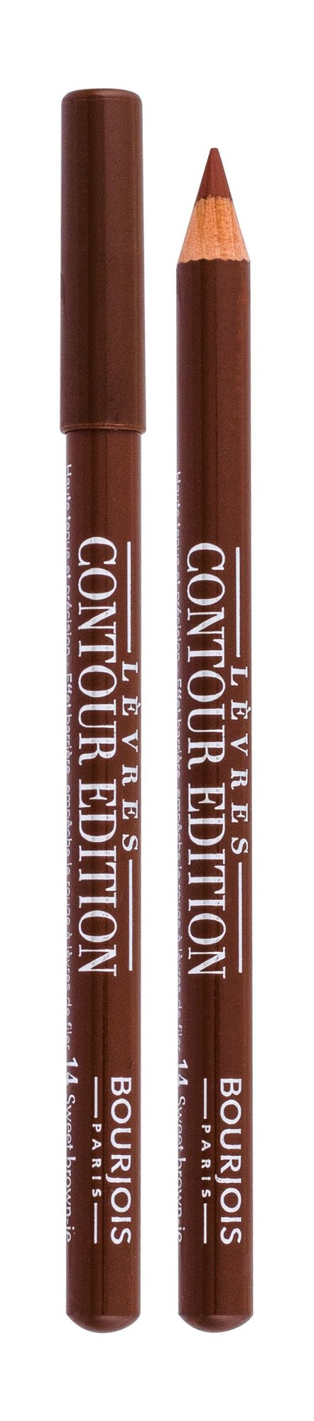 BOURJOIS Paris Contour Edition Lip Pencil 1,14ml 14 Sweet Brown-ie