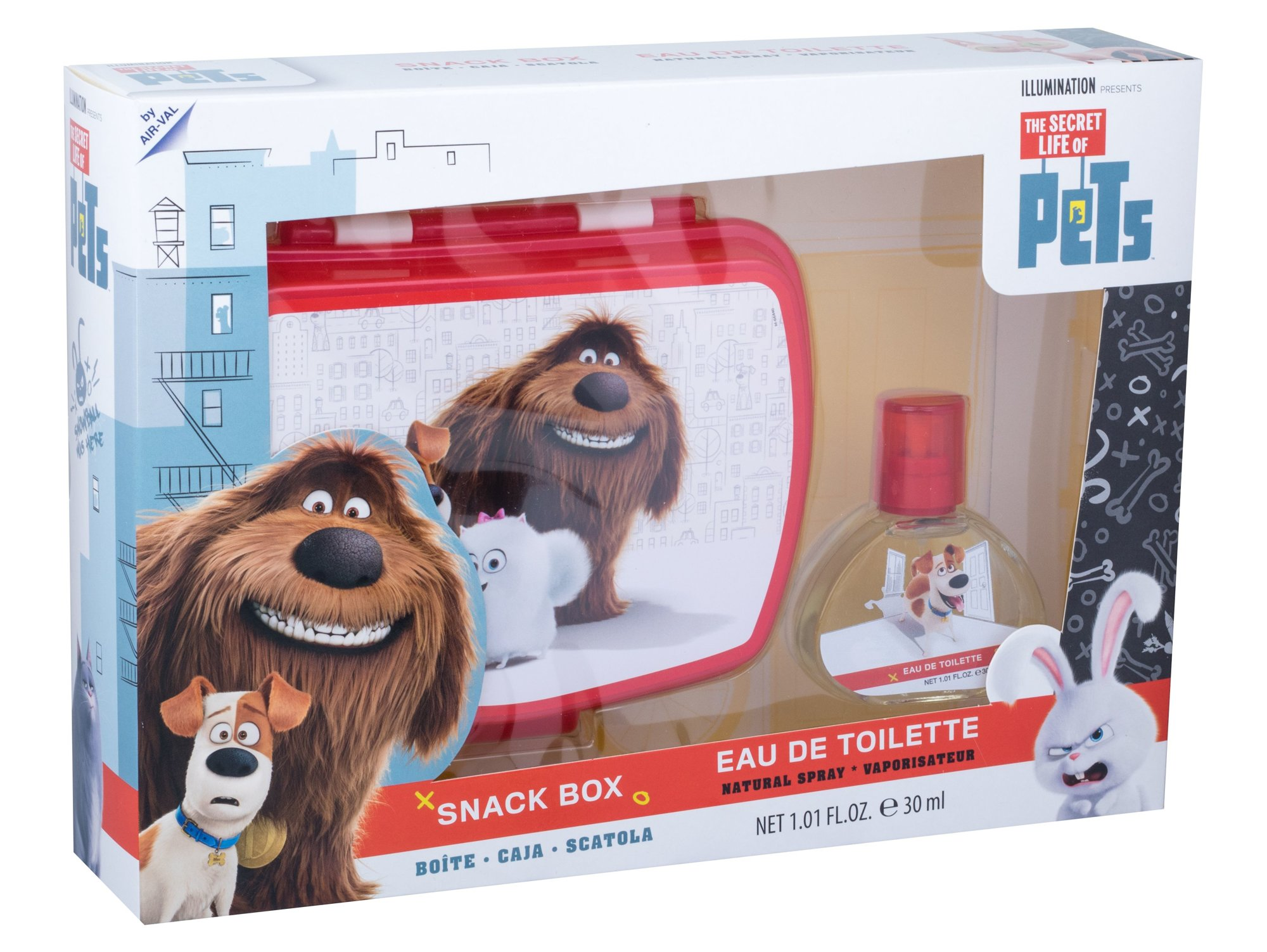 Universal The Secret Life Of Pets EDT 30ml