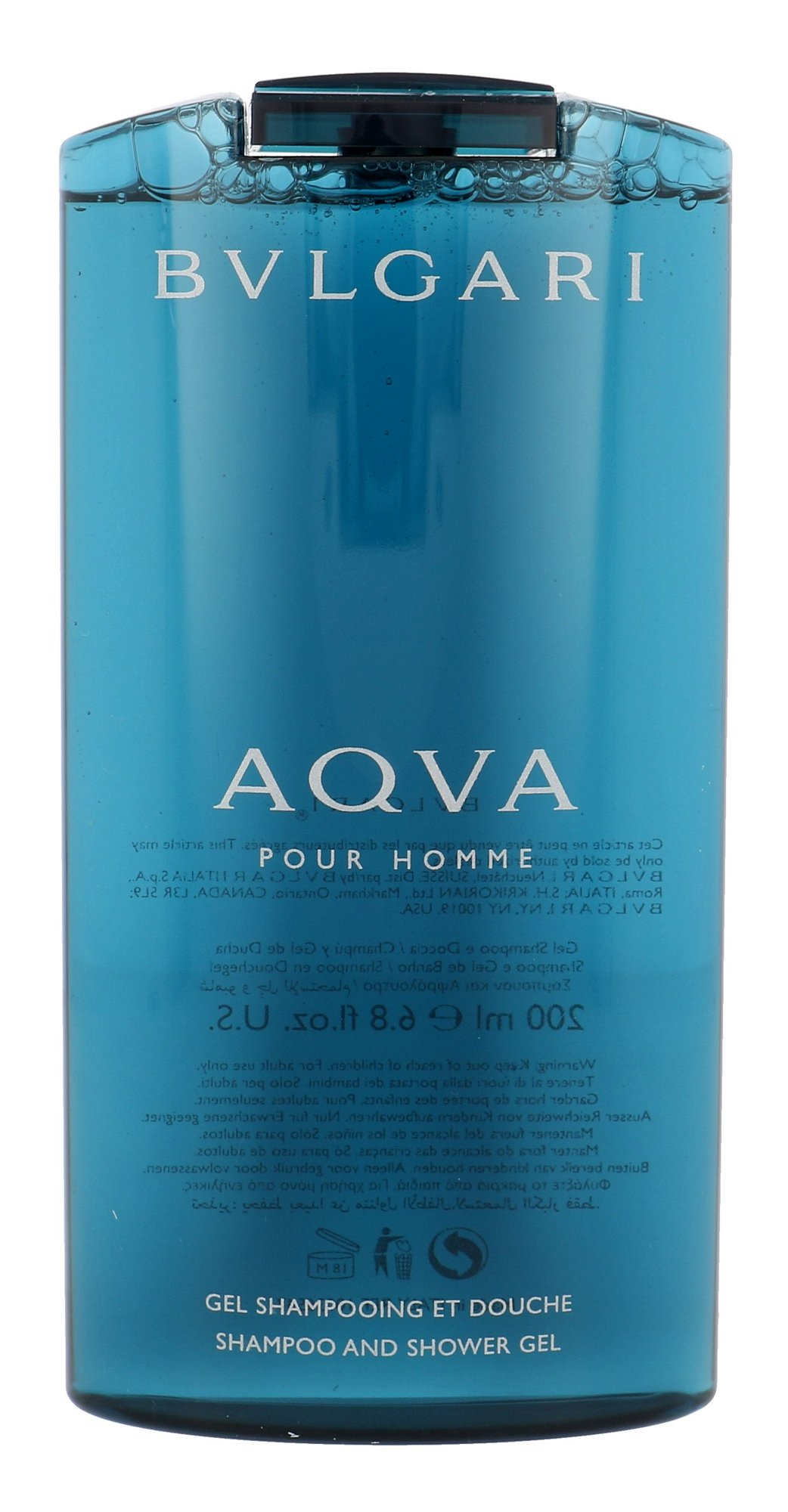 Bvlgari Aqva Pour Homme Shower gel 200ml