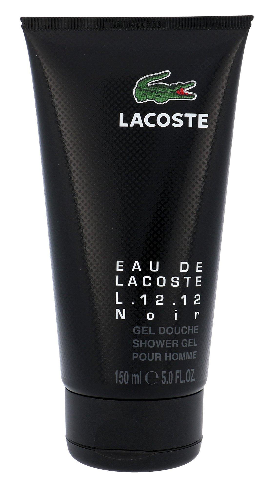Lacoste Eau De Lacoste L.12.12 Noir Shower gel 150ml
