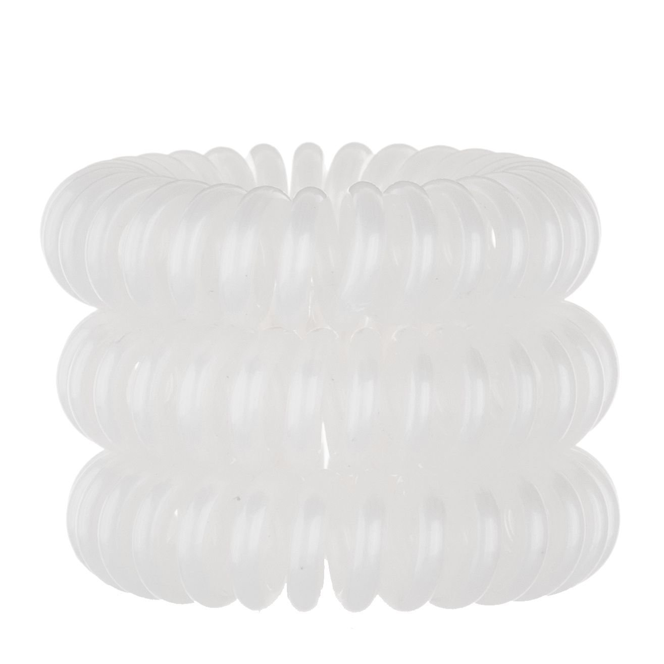 Invisibobble Hair Ring Cosmetic 3pcs White