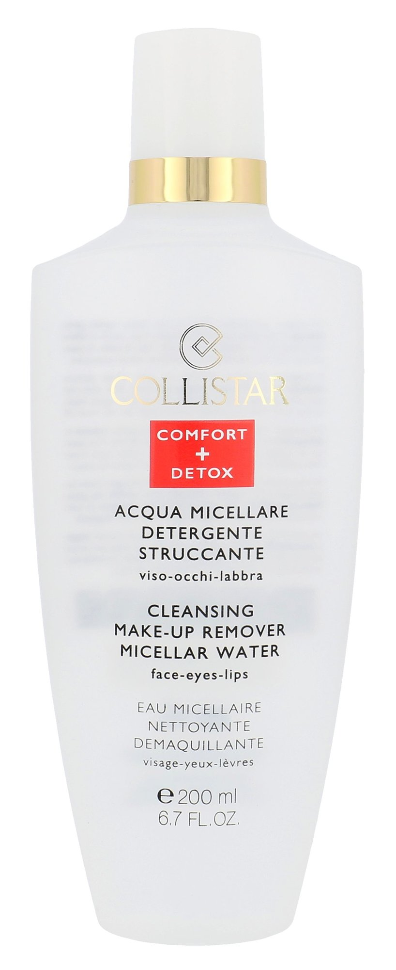 Collistar Micellar Water Cleansing Make-up Remover Cosmetic 200ml