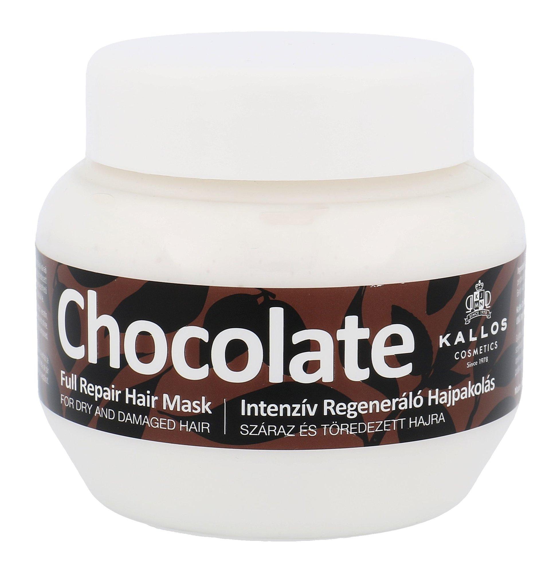 Kallos Chocolate Full Repair Hair Mask Cosmetic 275ml