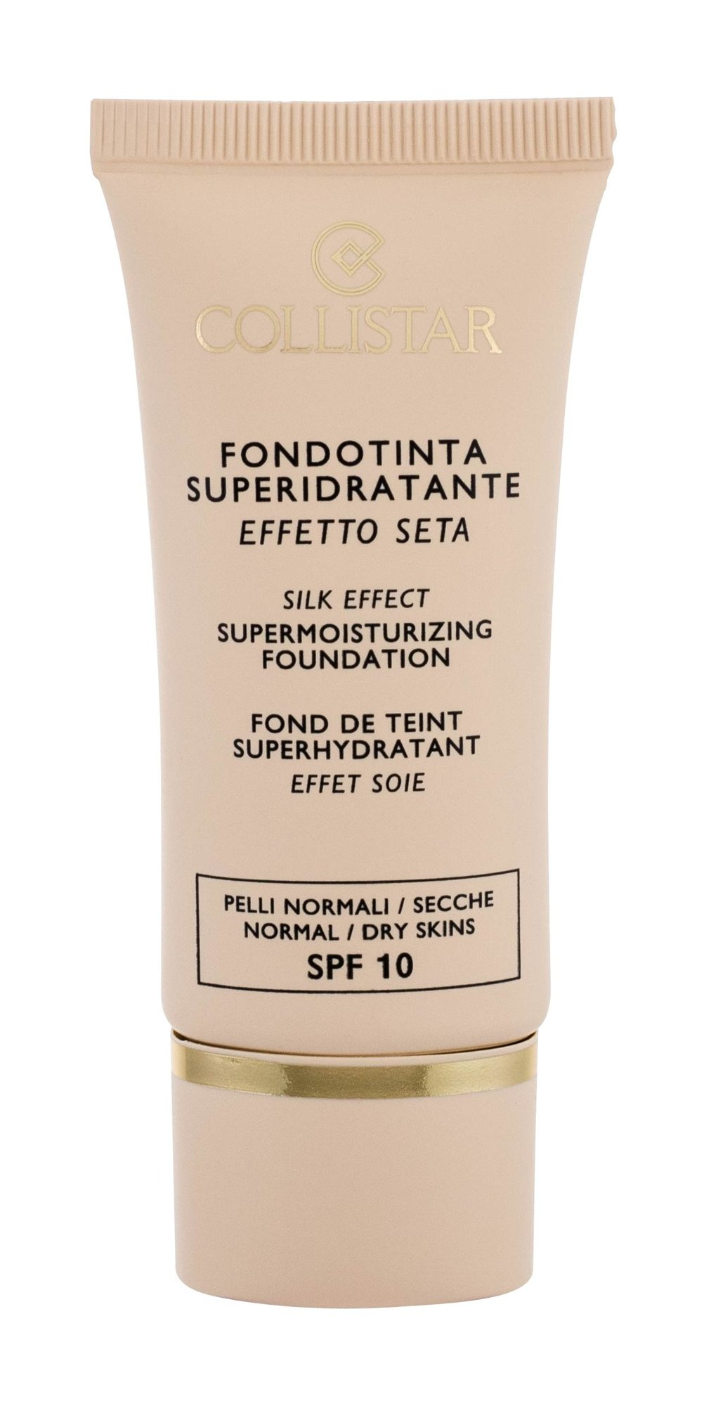 Collistar Silk Effect Supermoisturizing Foundation Cosmetic 30ml 3 Peach