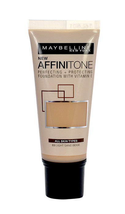 Maybelline Affinitone Cosmetic 30ml 18 Natural Rose