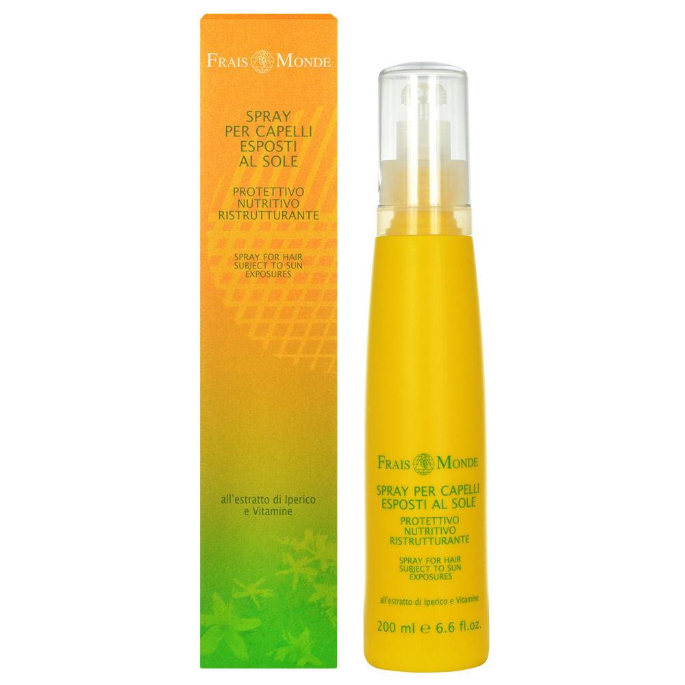 Frais Monde Spray For Hair Subject To Sun Exposures Cosmetic 200ml