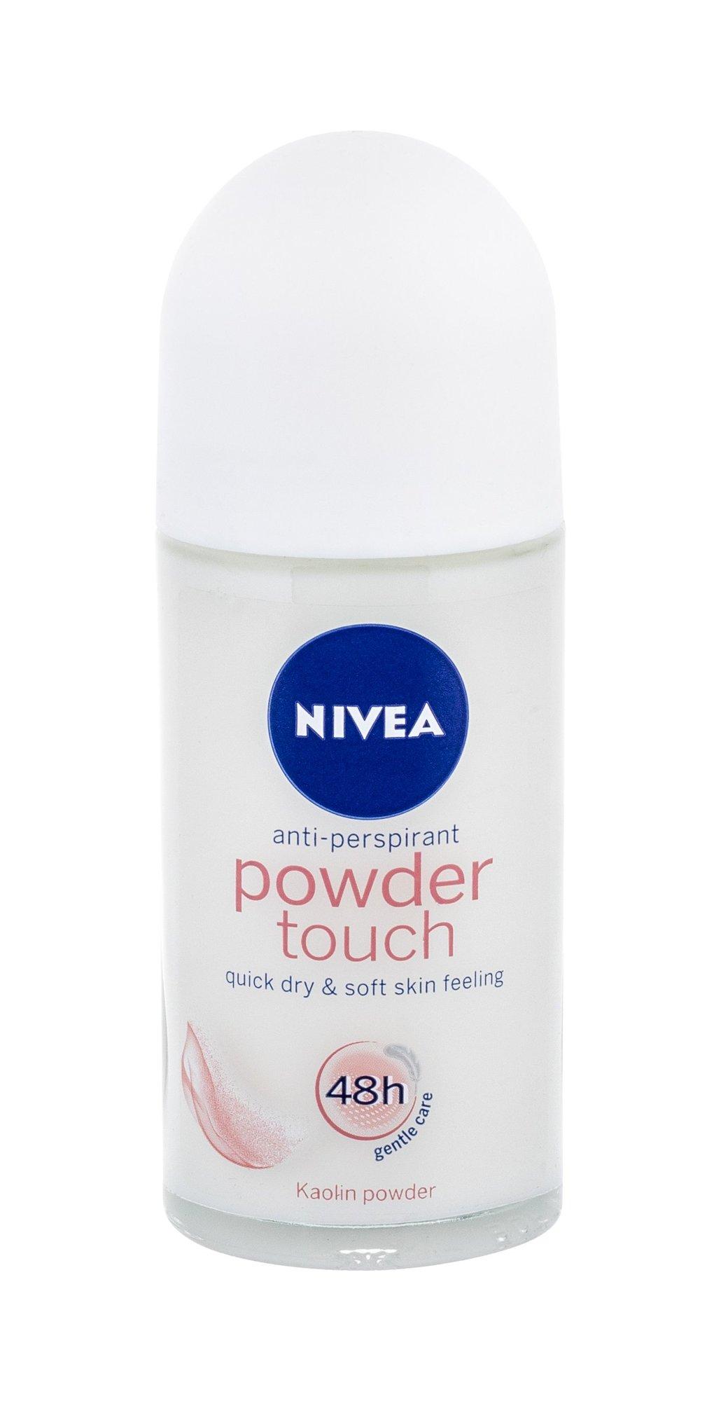 Rutulinis dezodorantas Nivea Powder Touch Anti-perspirant Roll-on 48H