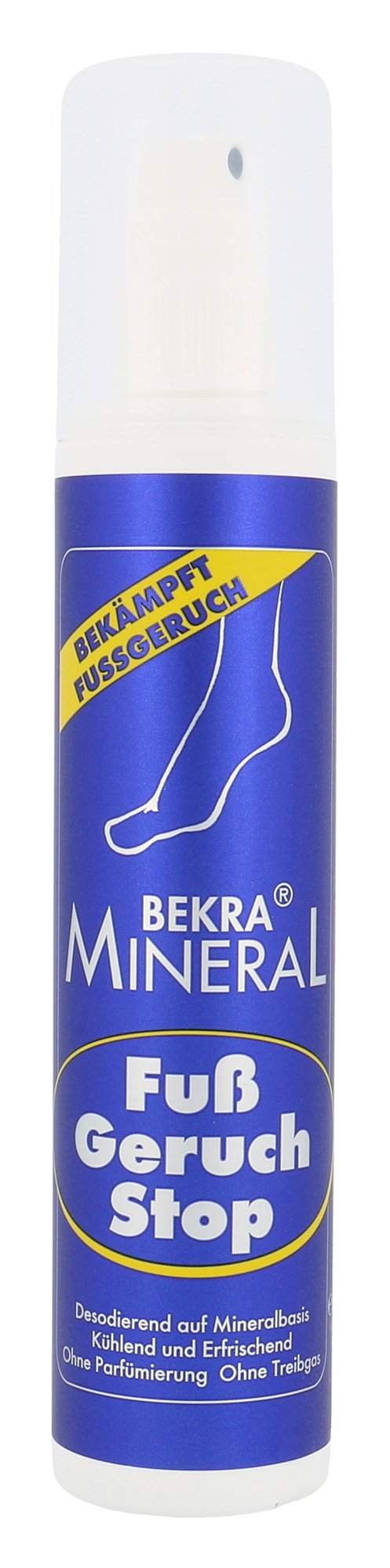 Bekra Mineral Foot Odour Stop Cosmetic 150ml