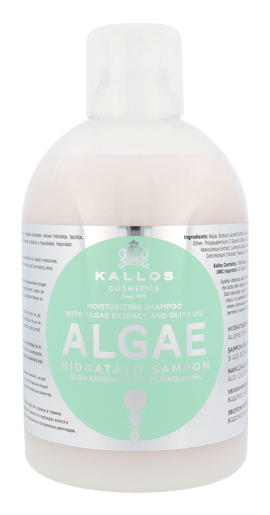 Kallos Algae Moisturizing Shampoo Cosmetic 1000ml