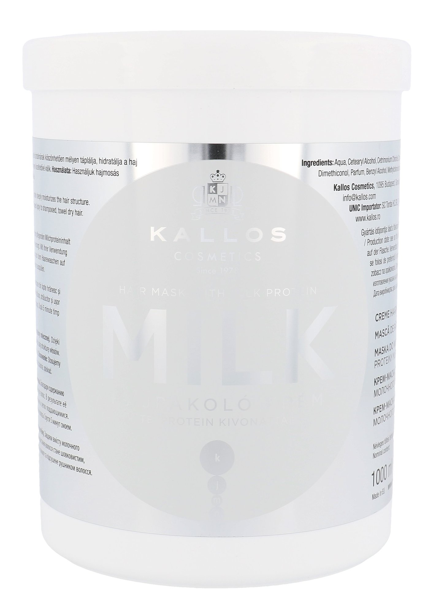 Kallos Cosmetics Milk Cosmetic 1000ml