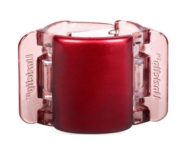 Linziclip Midi Hair Clip Cosmetic 1ks Red Pearl Translucent