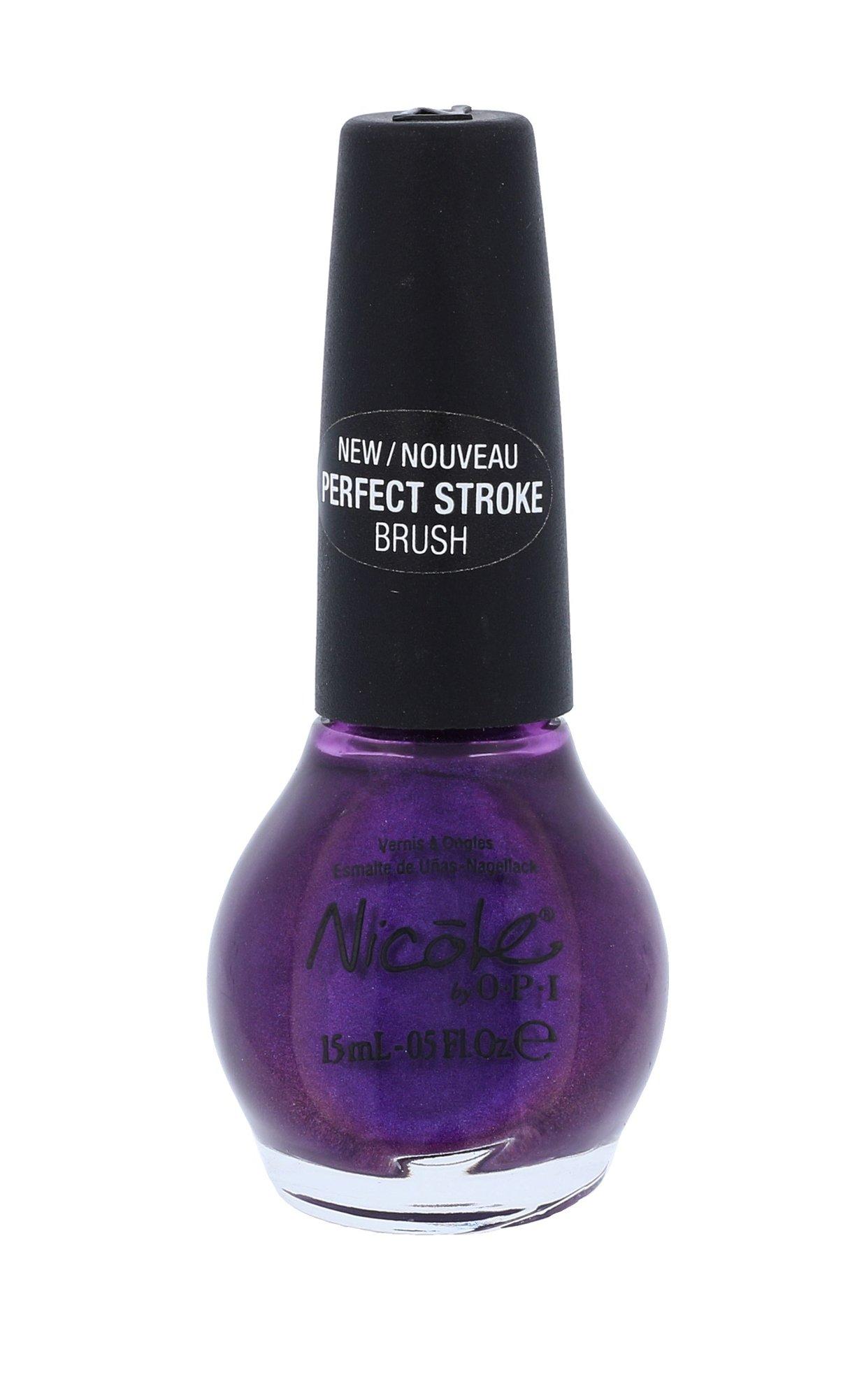 OPI Nicóle Nail Polish Cosmetic 15ml NI J02 Prized Possession Purple