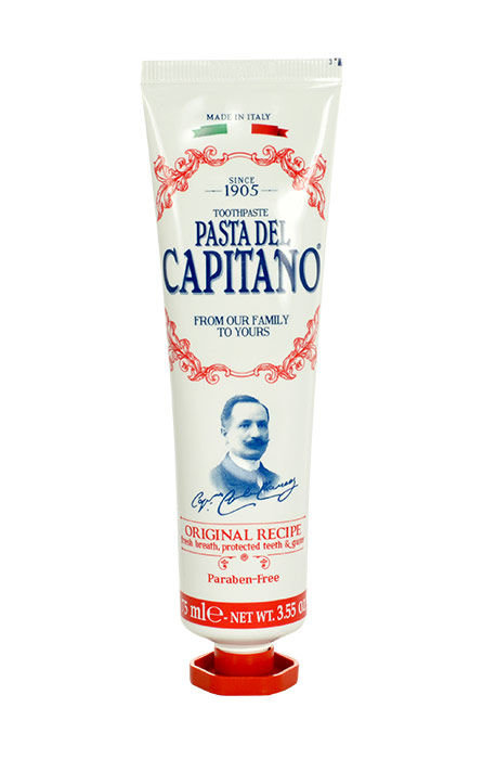 Pasta Del Capitano Original Recipe Toothpaste Cosmetic 25ml