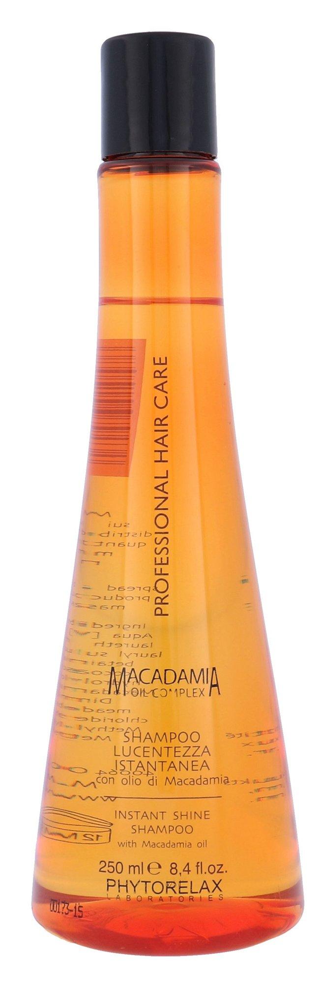 Phytorelax Laboratories Macadamia Instant Shine Shampoo Cosmetic 250ml