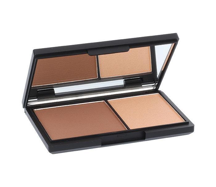 Sleek MakeUP Face Contour Kit Cosmetic 14ml 885 Medium Pressed Powder & Highlighter