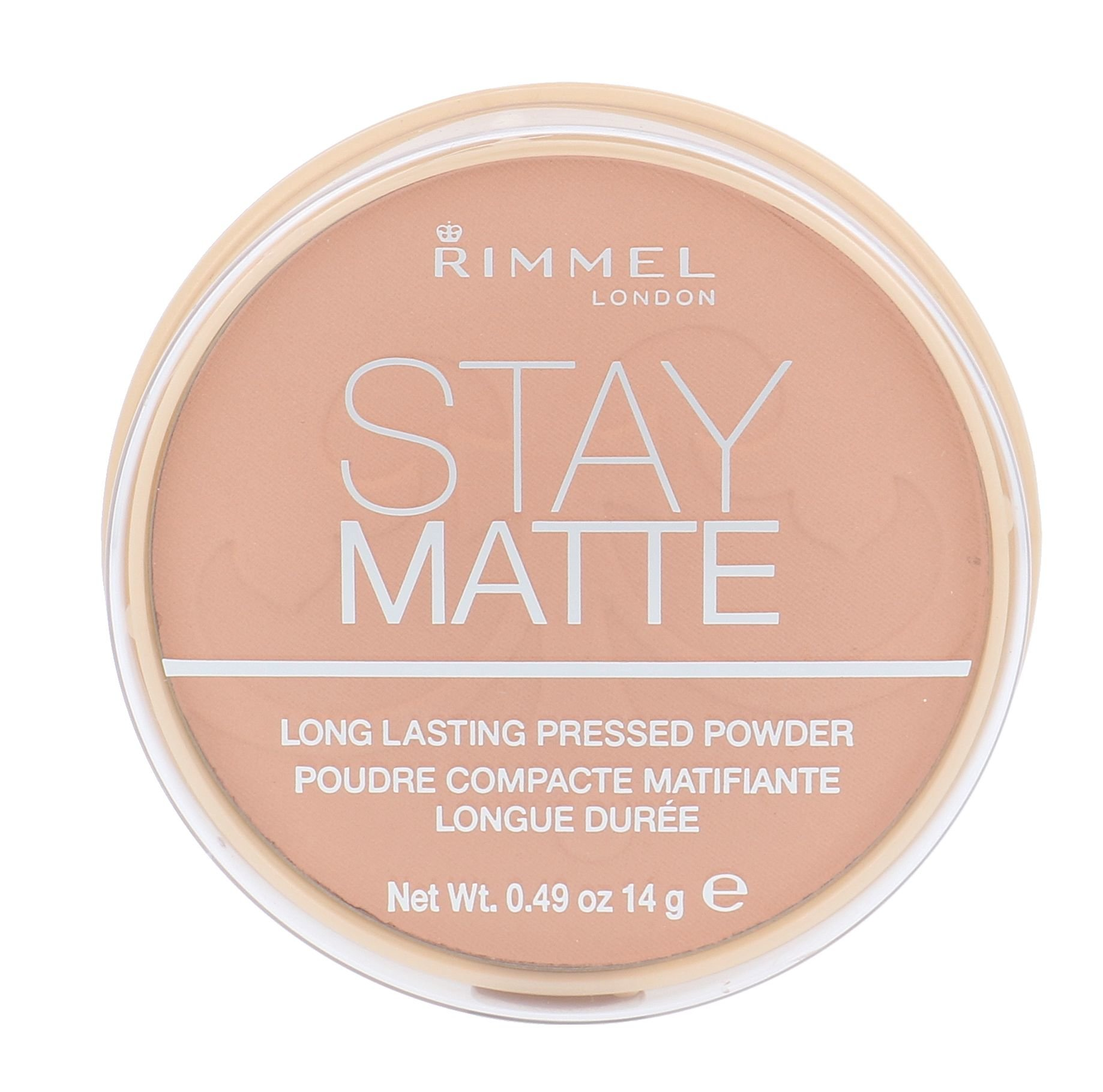 Rimmel London Stay Matte Cosmetic 14ml 009 Amber