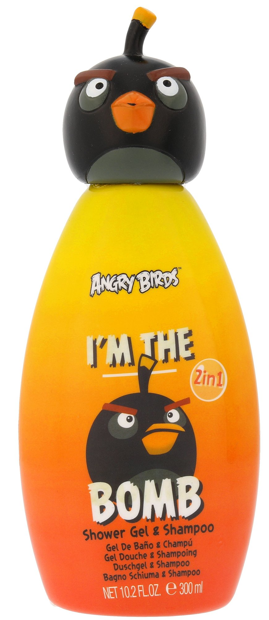 Angry Birds Angry Birds Bomb Shower gel 300ml