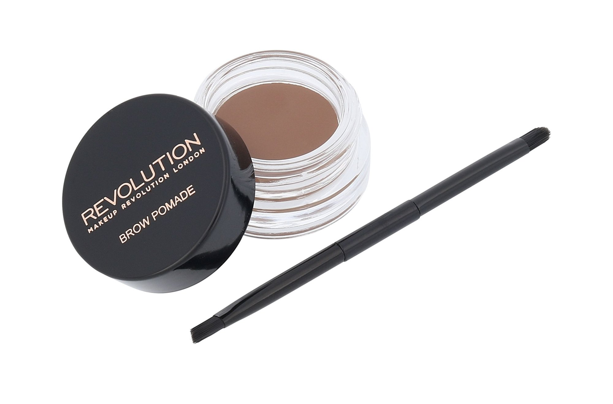 Makeup Revolution London Brow Pomade With Double Ended Brush Cosmetic 2,5g Soft Brown