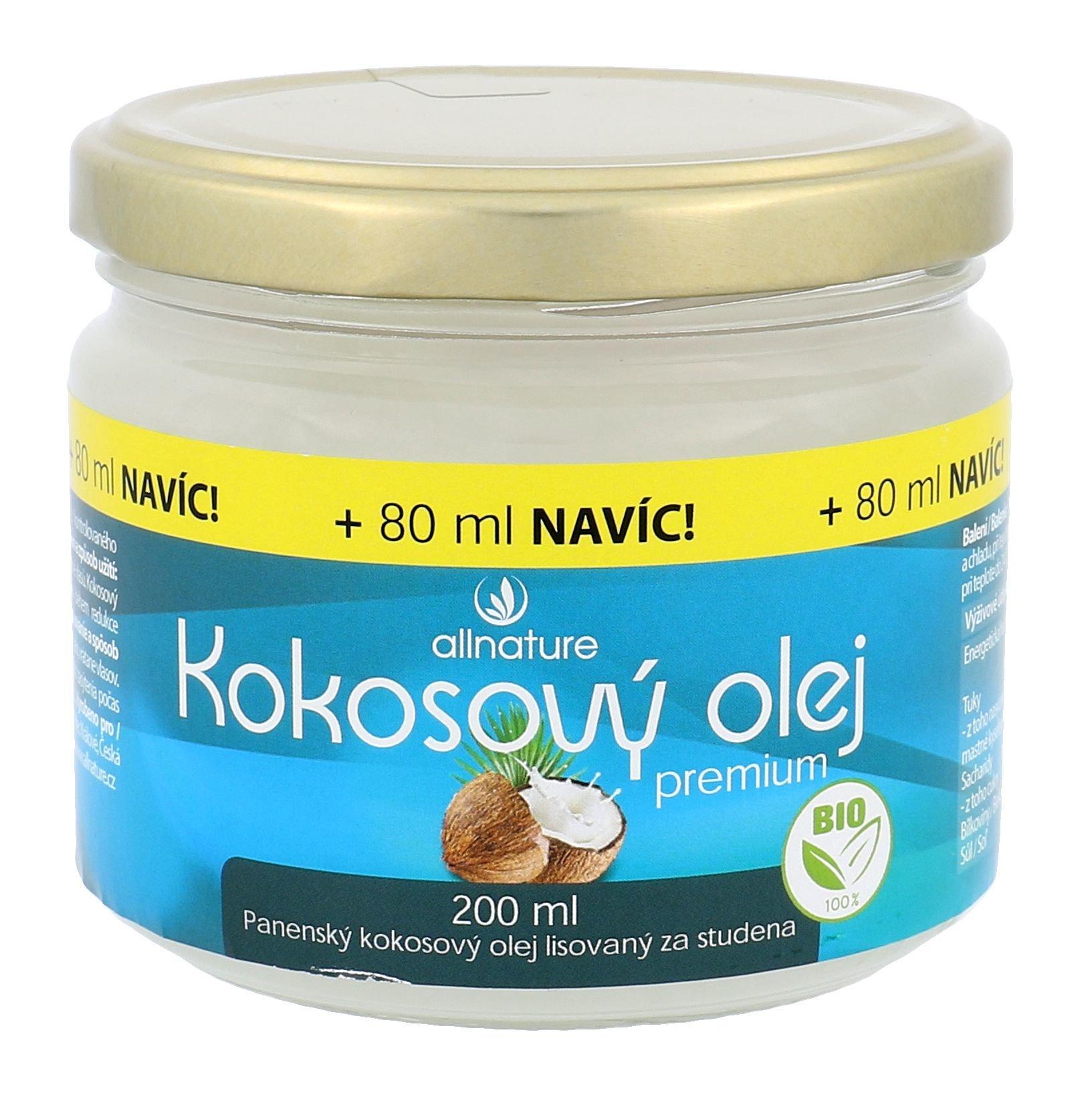 Allnature Premium Bio Coconut Oil Cosmetic 280ml